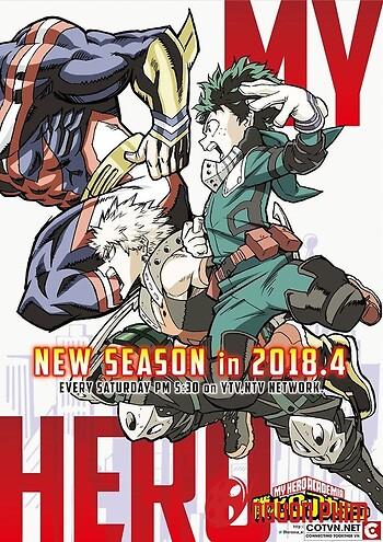 Boku No Hero Academia 3Nd Season