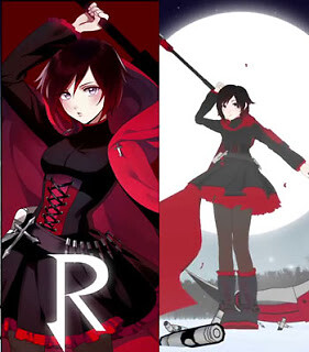 Rwby Red White Black Yellow 3