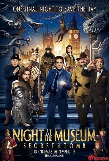 Đêm Tối Ở Viện Bảo Tàng 3: Bí Mật Hầm Mộ (2014)