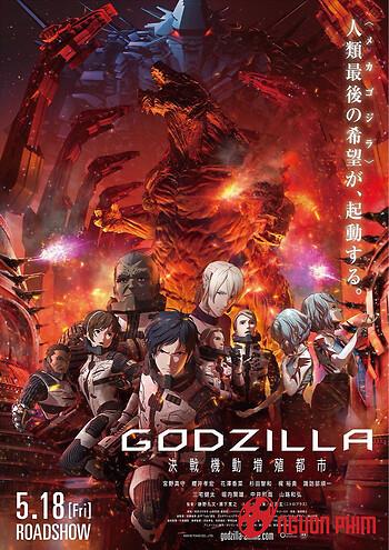 Godzilla Trái Đất Và Godzilla Robot