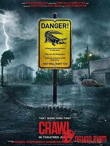 Địa Đạo Cá Sấu Tử Thần - Crawl