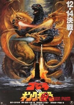 Godzilla Với King Ghidorah