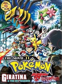Pokémon 11: Giratina Và Bông Hoa Của Bầu Trời