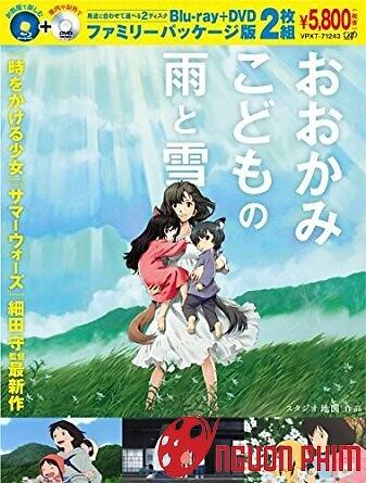 Ame Và Yuki - Những Đứa Con Người Sói