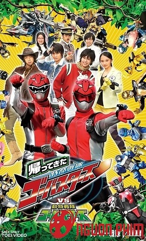 Kaettekita Tokumei Sentai Go Busters Returns Vs Dobutsu Sentai Go Busters