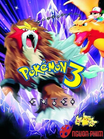 Pokémon 3: Đế Vương Của Tháp Pha Lê Entei