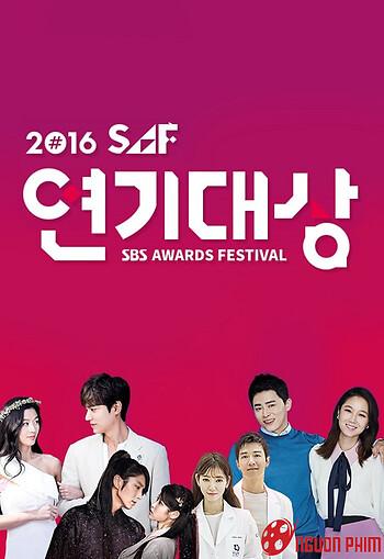 Lễ Trao Giải Sbs Drama 2016