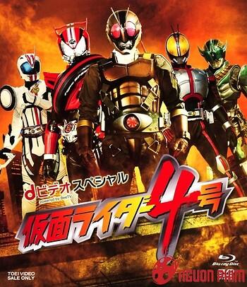 Siêu Nhân Kamen Rider 4