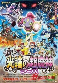 Pokemon Movie 18 :hoopa Và Cuộc Chiến Pokemon Huyền Thoại