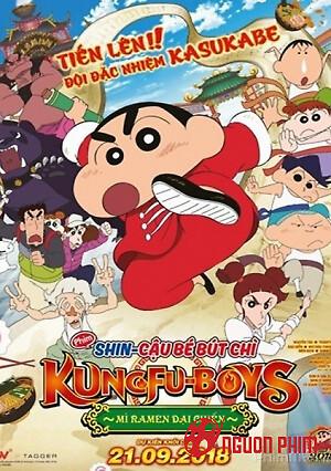 Shin - Cậu Bé Bút Chì: Kung Fu Boys – Mì Ramen Đại Chiến