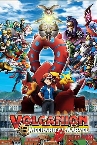 Pokemon Movie 19 Xy&z: Volkenion Và Magiana Siêu Máy Móc
